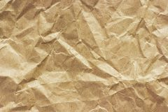 Texture of coarse crumpled paper, background