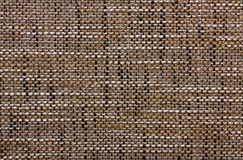 Texture of a coarse fabric Stock Images