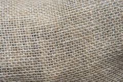 Texture of coarse thread intertwined. Sackcloth stock image