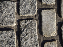 Texture of cobbles Royalty Free Stock Photography