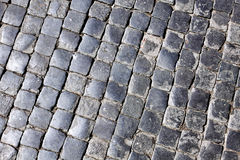 Texture of cobblestone. Stock Image