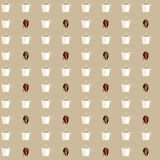Texture with Coffee Stock Photos
