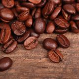 Texture of coffee background Royalty Free Stock Photos