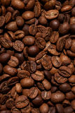 Texture of coffee beans Royalty Free Stock Photo