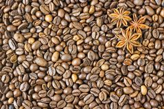 Texture coffee beans Stock Photos