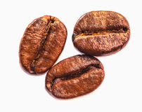 Texture of coffee beans that suitable for background, backdrop, wallpaper, display and everything about coffee artwork . Stock Photography