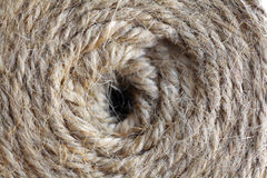 Texture of a coil of rope Royalty Free Stock Photo