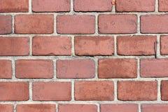 Texture coloniale de trottoir de brique Photo stock