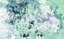 Texture colorée Art Background d'aquarelle abstraite Images stock