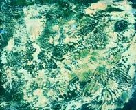 Texture colorée Art Background d'aquarelle abstraite Photo stock