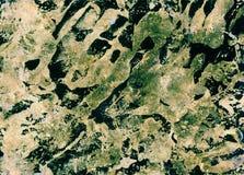 Texture colorée Art Background d'aquarelle abstraite Photos libres de droits