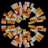 Texture colorée d'abrégé sur mosaïque illustration libre de droits