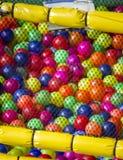 Texture colorée de billes Image libre de droits