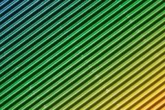 Texture colorée de fond de carton ondulé Photo libre de droits