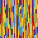 Texture colorée de fond de rayures verticales Configuration sans joint illustration libre de droits