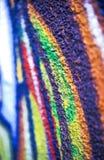 Texture colorée de mur Image libre de droits