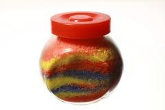 Texture colorée de sel Élément de conception Images stock