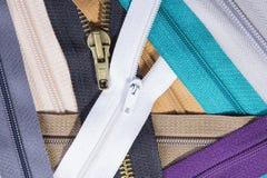 Texture colorée de tirettes pour le fond Photo stock