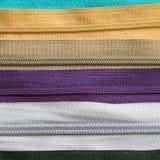 Texture colorée de tirettes pour le fond Image libre de droits