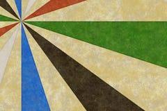 texture colorée par années '60 Image libre de droits
