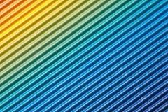 Texture colorée rayée de fond de carton Photo libre de droits