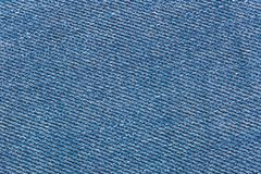 Texture of color jeans textile close up Stock Photo