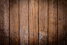 Texture and color of old  wood panel Stock Image