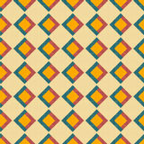 Texture with color rhombuses Stock Image