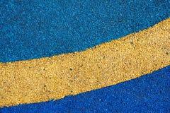 Texture of color rubber floor on playground. ( Ethylene Propylene Diene Monomer EPDM Royalty Free Stock Photo