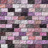 Texture of a colored brick wall Royalty Free Stock Image