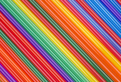 Texture of colored cocktail sticks. obliquely stripe color Royalty Free Stock Photos