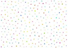Texture of colored confetti. Festive fun background. Colorful vector illustration Royalty Free Stock Photography