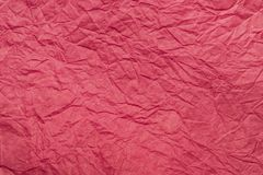 Texture colored crumpled patterned stripes decorative packaging paper ,. Texture colored crumpled patterned stripes decorative packaging paper pink, abstract stock photo