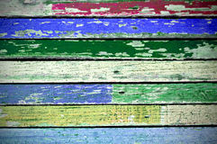 Texture of colored grunge wood Stock Photography