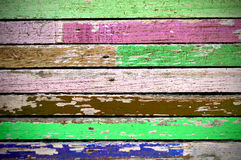 Texture of colored grunge wood Royalty Free Stock Photography