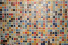 Texture colored mosaic stock image