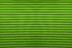 Texture of colorful green plastic shutters for abstract Stock Photos