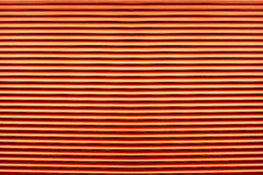 Texture of colorful orange plastic shutters for abstract element Royalty Free Stock Image