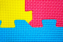Texture colors puzzles Stock Photos