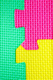 Texture colors puzzles. Close-up Stock Images