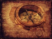 Texture, Compass, Wood, Square Stock Photos
