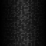 Binary Numbers Texture Stock Photo