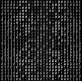 Binary Numbers Texture Stock Photos
