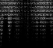 Binary Numbers Texture Royalty Free Stock Photos