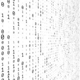 Binary Numbers Texture Stock Image