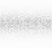Binary Numbers Texture Stock Photography