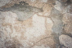Texture concrète criquée Photographie stock