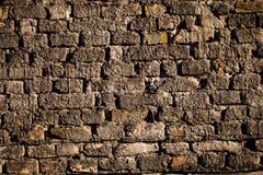 Texture concrète de mur de briques Photographie stock libre de droits