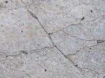 Texture concrète grise de fond fissures brouillons images libres de droits