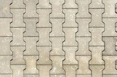 Texture of concrete blocks. Texture of the floor of concrete blocks Royalty Free Stock Photos
